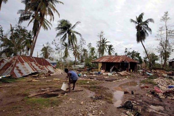 L'uragano Matthew (foto da shawglobalnews)