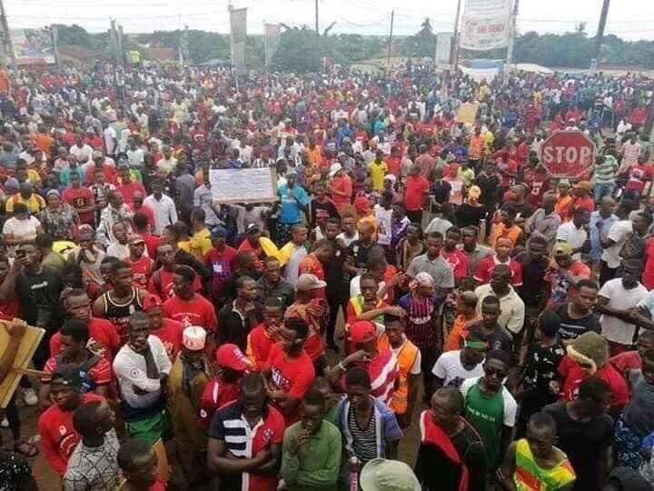Risultati immagini per proteste in guinea conakry